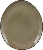 Mica Decorations tabo bord ovaal creme maat in cm: 28,5 x 23,5