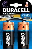 Duracell D Ultra Power - 2 stuks