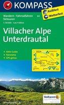 Kompass WK64 Villacher Alpe, Unterdrautal