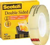 Plakband Scotch dubbelzijdig 665 12 mm x 22.8 m