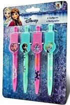 Disney Frozen balpennen 4 delig
