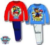 Paw patrol pyjama 98 cm Rood
