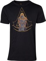 Assassin's Creed Origins - Bayek and Crest Logo T-shirt