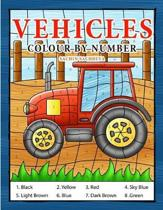 Vehicles Colour by Number