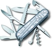 Victorinox Huntsman Silver Tech - Zakmes - 15 Functies - Transparant