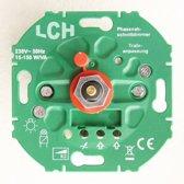 LCH LED inbouwdimmer 230 volt 15-150 watt | fase-afsnijding