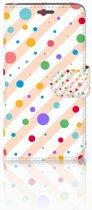 Wiko Rainbow Jam Boekhoesje Design Dots