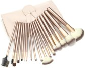 Professionele Beige-Goud - 24 delig - Make-up Kwastenset