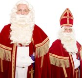 Baardstel Sinterklaas Kanekalon