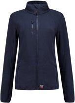 Tricorp 301011 Sweatvest Fleece Luxe Dames Blauw maat L