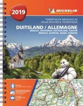 ATLAS MICHELIN DUITSLAND, OOSTENRIJK, ZWITSERLAND 2019