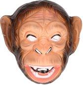 Plastic apen masker voor volwassenen - dieren gezichtsmasker