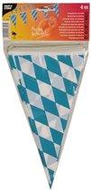 Oktoberfest Vlaggenlijn blauw/wit Bayern