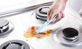 Keuken Schraper handige vlekken vet verwijderaar tool keukenhulp keukenschraper plastic Blauw