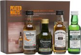 Peated Malts of Distinction - Whisky Miniset - 4 x 5 cl