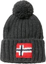 Napapijri Muts (fashion) - Mannen - grijs/rood/wit/blauw