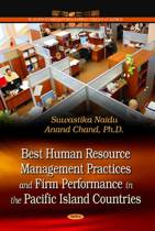 Best Human Resource Management Practices & Firm Performance in the Pacific Island Countries