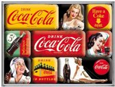 Magneet Set Coca-Cola Yellow Mix
