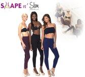 Shape 'n Slim - Afslanklegging - Legging - 3 stuks - Maat S/M