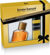 Bruno Banani Man's Best Geschenkset - Eau de Toilette 30 ml + Deo Spray 50 ml