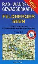 Feldberger Seen 1 : 35 000 Rad-, Wander- und Gewässerkarte