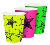 Cups Neon Party 250ml /6
