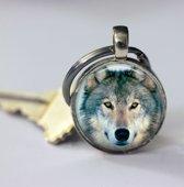 Wolf sleutelhanger outdoor uniek