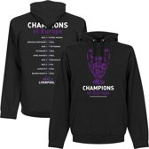 Real Madrid 13 Times Champions League Winners Hooded Sweater - Zwart - M