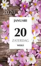 Dag scheurkalender MGP 2019 - Scheurkalender - 1 dag/1 pagina - home - 21 x 34 cm