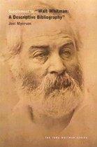 Supplement to Walt Whitman