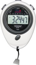 Easy in Shape - Stopwatch + Fluit - LCD - 7 functies zwart wit - Bestseller