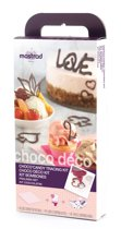 Mastrad Choco Deco Bakvorm - Giftset - Raspberry