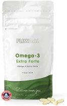Omega-3 Extra Forte (Extra hoog gedoseerd visoliesupplement) - 30 capsules - Flinndal