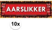 10x Sticky Devil Aarslikker grappige teksen stickers