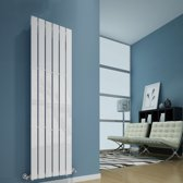 Sanifun design radiator Boston 2000 x 410 Wit
