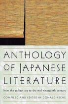 Anthology of Japanese Literature, from the Earliest Era to the Mid-Nineteenth Century