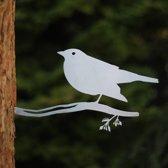 Merel RVS - By Aimy Birds - 29 x 14,8 cm BxH