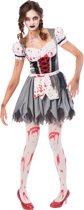 Zombie Oktoberfest kostuum voor vrouwen - Verkleedkleding