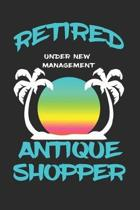 Retired Antique Shopper Under New Management: Funny White Elephant Gag Gifts For Coworkers Going Away, Birthday, Retirees, Friends & Family - Secret S