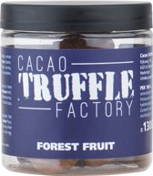 Cacao Truffle Factory Forest Fruit 130g Chocolade Truffels
