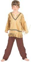 Indianen pak voor jongens - Verkleedkleding - Maat 122/134
