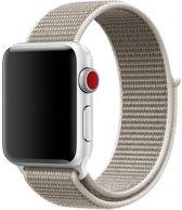 Sport Loop Bandje voor Apple Watch 38mm / 40mm - KELERINO. - Licht Grijs