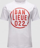 Banlieue Off Shadow T-shirt Wit/Rood