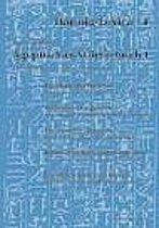 Agyptisches Worterbuch 1