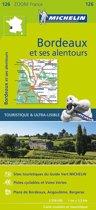 Bordeaux environs 11126 carte michelin kaart zoom
