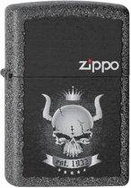 Zippo aansteker Skull Crown