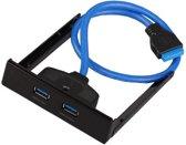 2 Poorten USB 3.0 Front Adapter