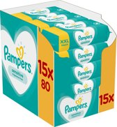 Pampers Sensitive Billendoekjes - 1200 stuks