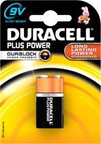 Duracell Plus 9V Blokbatterij Mn1604 (1)