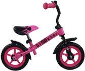 Broozzer Easy Rider Metaal 10 inch Roze - Loopfiets